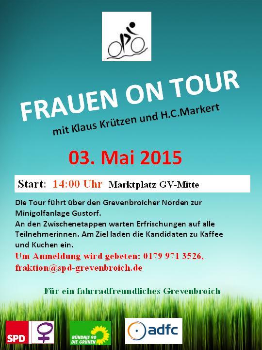 Frauen on Tour – Für ein fahrradfreundliches Grevenbroich