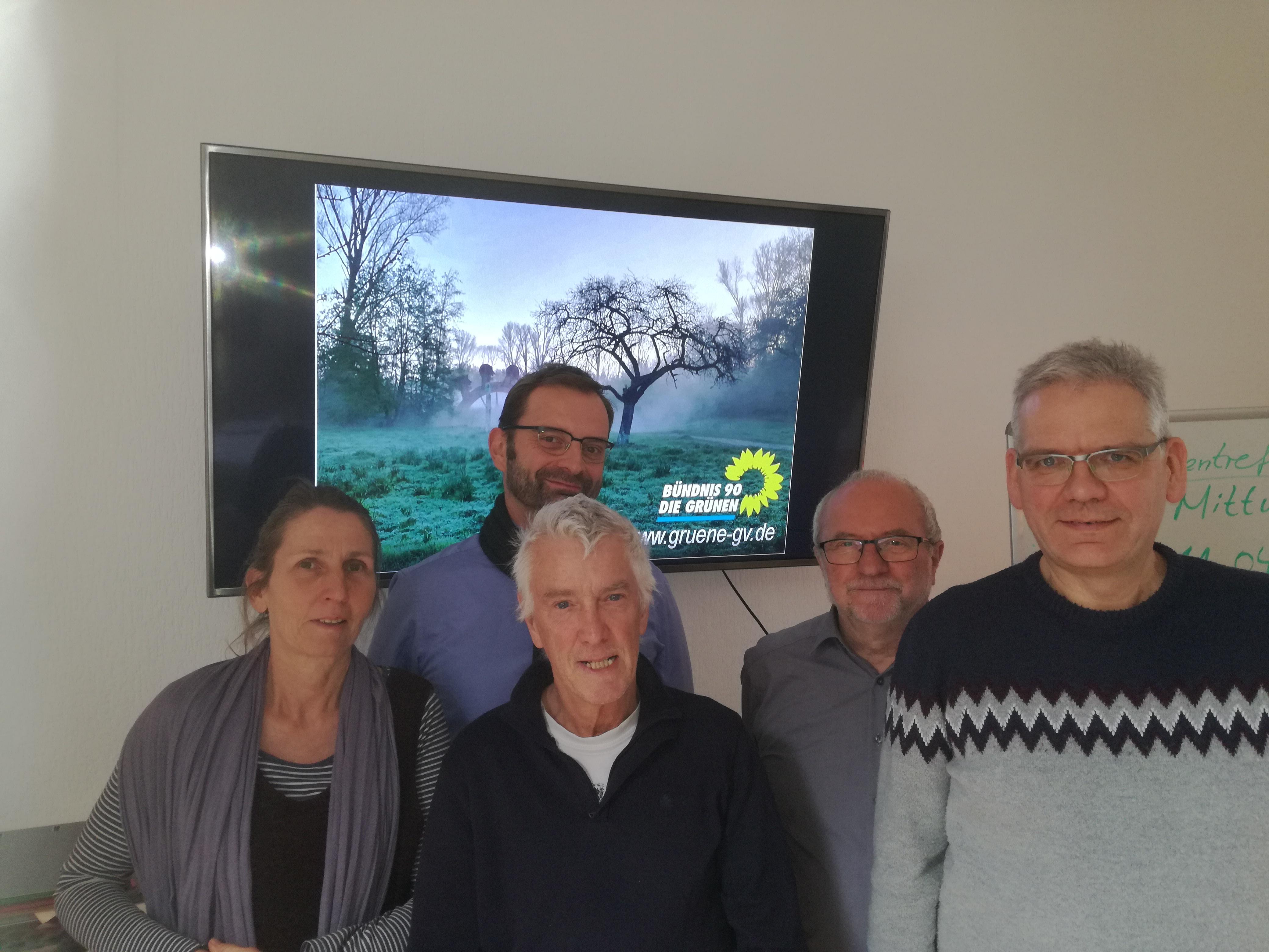Grüne in Grevenbroich wählen Vorstand