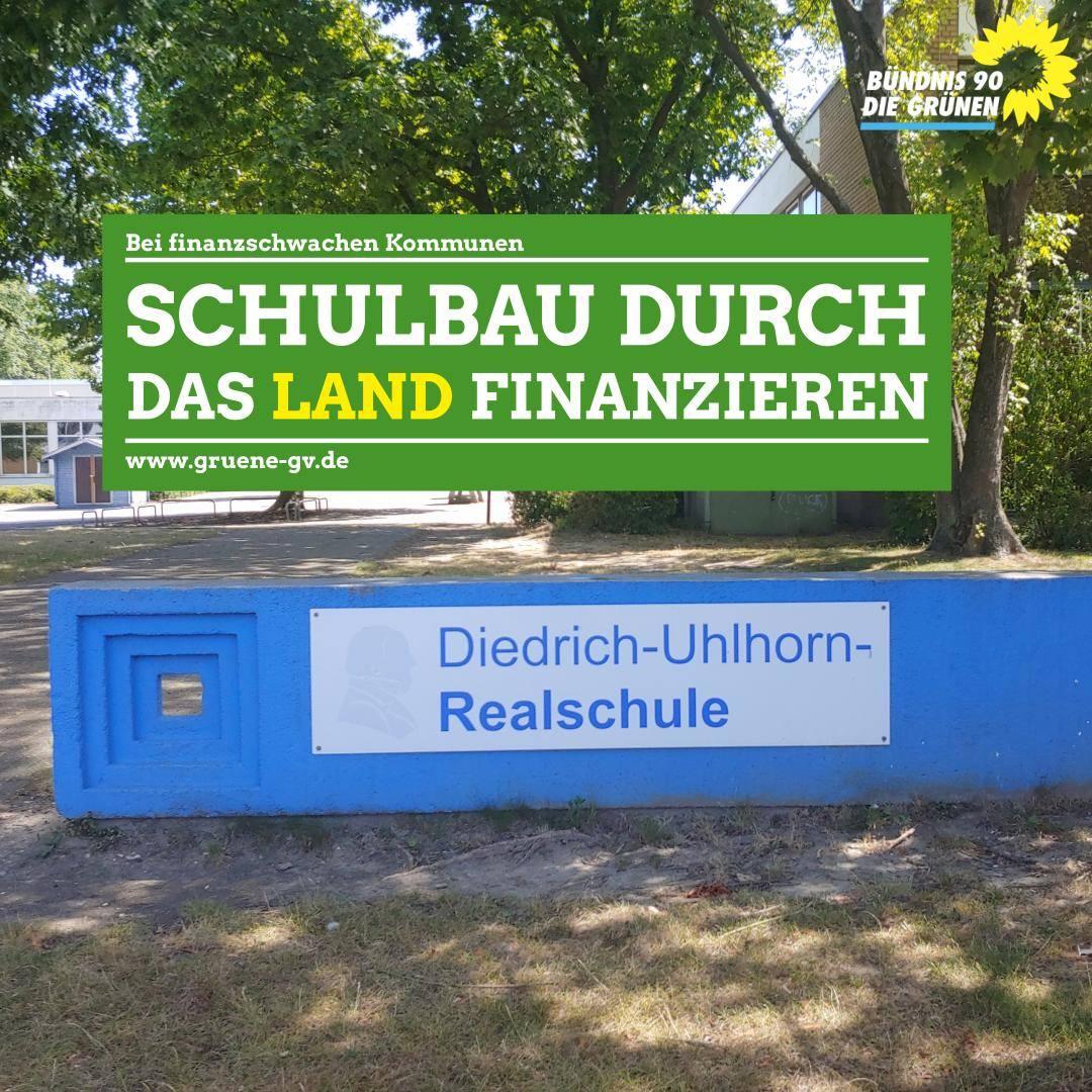 Pressemitteilung zu den fehlenden 32 Millionen Euro für die neue Schule